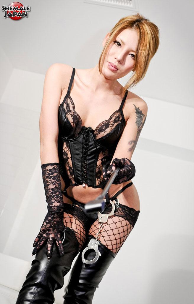 ladyboy fetish corset -